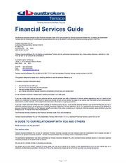 Campus Nominees Financial Services Guide